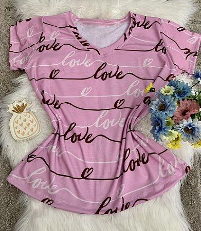 Blusa Feminina no Atacado Love