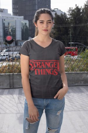 Blusas Femininas Diversas no Atacado Stranger Things