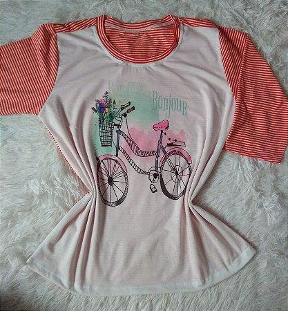 Blusa Feminina no Atacado Bike Bonjour