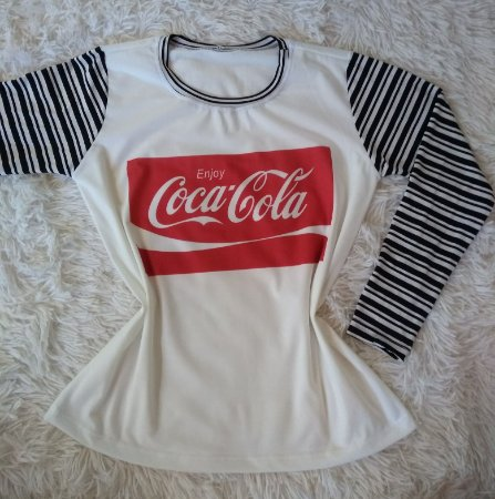 T Shirt Feminina No Atacado Coca Cola