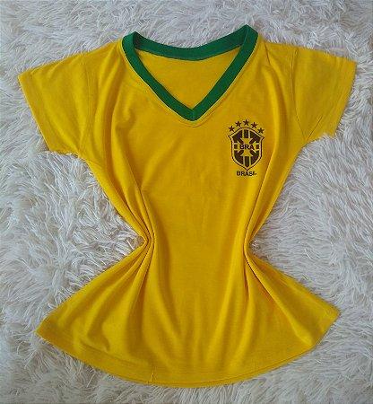 T Shirt Feminina no Atacado Copa