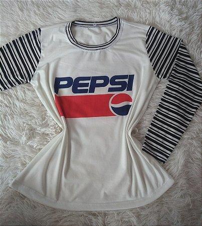 T-Shirt Feminina Para Revenda Pepsi
