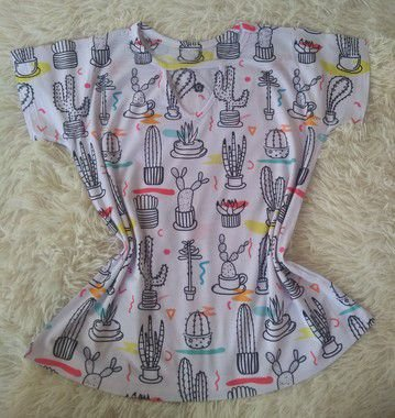 T Shirt Feminina Para Revenda Cactos