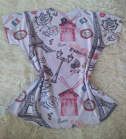 Tshirt Feminina Paris France