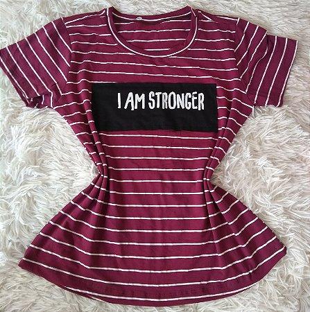 Tee Feminina no Atacado  I Am Stronger