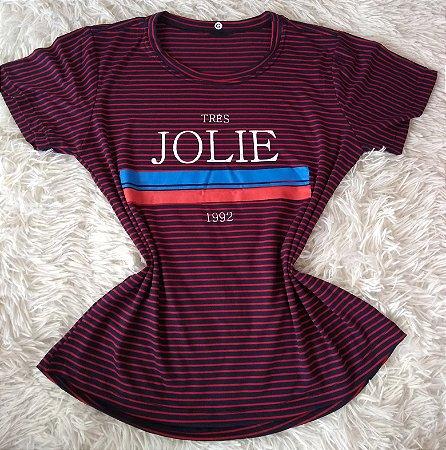 Tee Feminina Para Revenda Jolie 1992