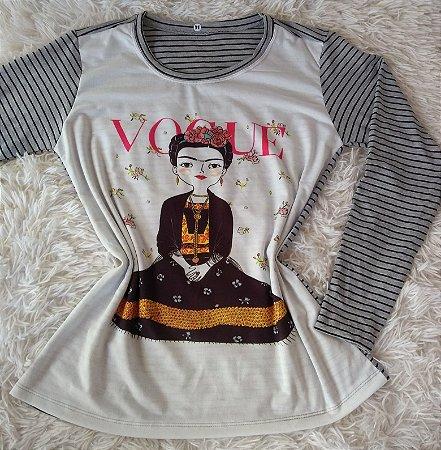 TShirt Feminina Para Revenda Vogue