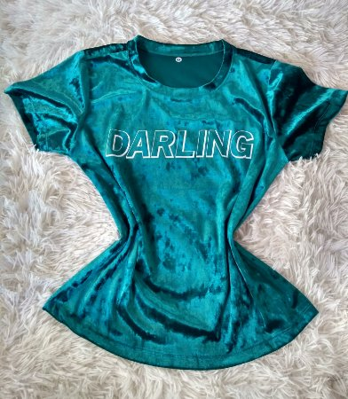 T-Shirt Feminina No Atacado Darling