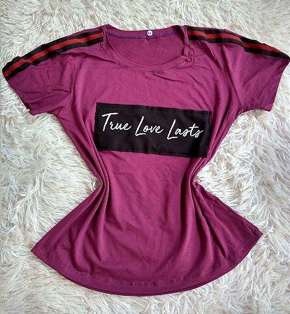 Blusa Feminina Para Revenda True Love Lasts