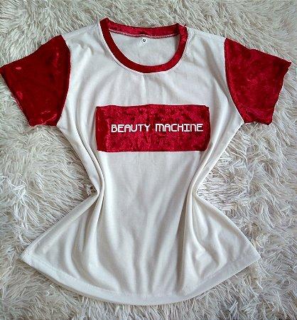 TShirt Feminina no Atacado Beauty Machine