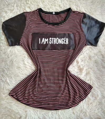 T-Shirt Feminina Para Revenda Stronger