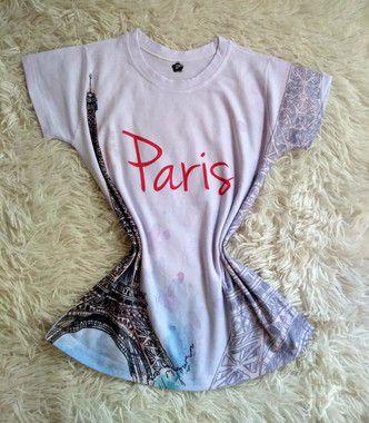 Blusinha Feminina no Atacado Paris Torre