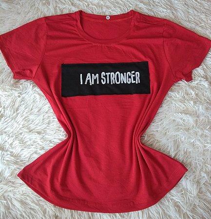 Blusinha Feminina no Atacado Stronger