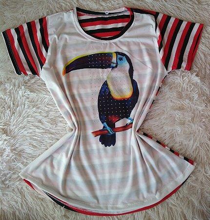 T Shirt Feminina Para Revenda Tucano