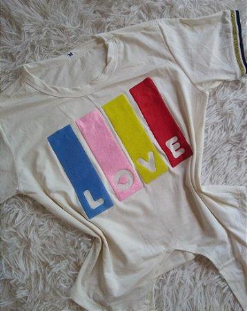 Blusa Feminina no Atacado Love Colorido