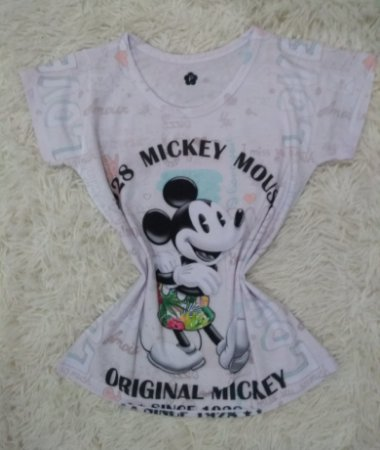 T-shirt Feminina no Atacado Original Mickey