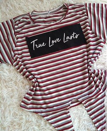 TShirt Feminina Para Revenda True Love Lasts