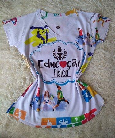 T-Shirt Profissões Atacado Educação Física
