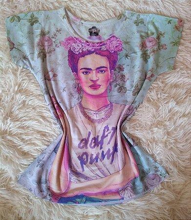T-shirt Feminina no Atacado Frida Daft Punk