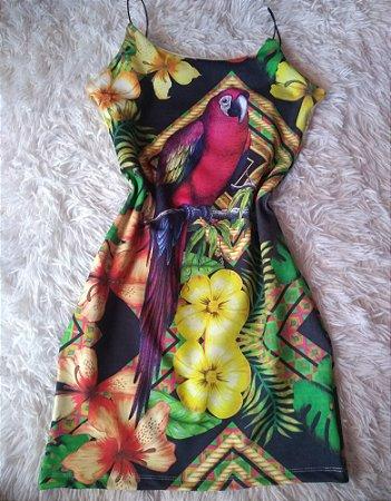 Vestido no Atacado Papagaio