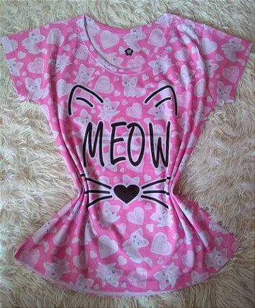 Blusa Feminina no Atacado Meow