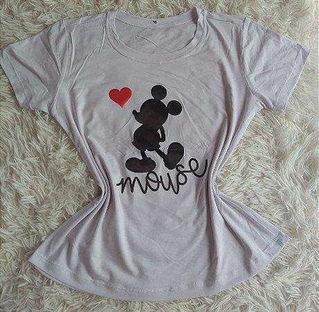 T-Shirt Feminina Para Revenda Mickey Mouse