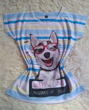 Blusinha Feminina no Atacado Beware Dog