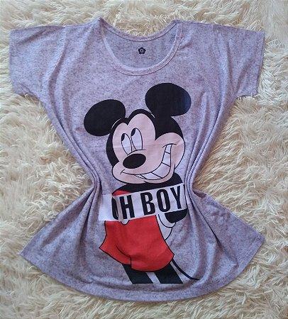 TShirt Feminina no Atacado Mickey Oh Boy