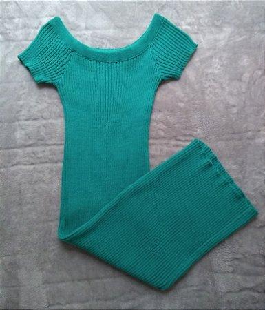 Vestido Tricot Verde