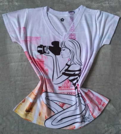 T Shirt Feminina Para Revenda Fotografa