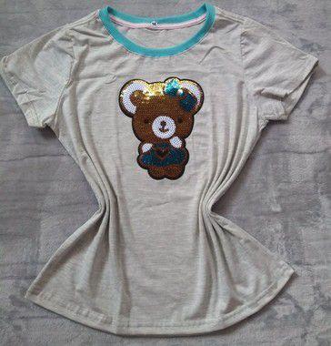 Blusa Feminina no Atacado Ursinho