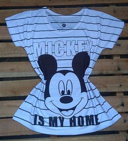 TShirt Feminina No Atacado Mickey is My Home