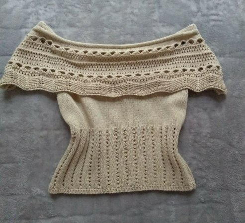 Cropped Tricot Off
