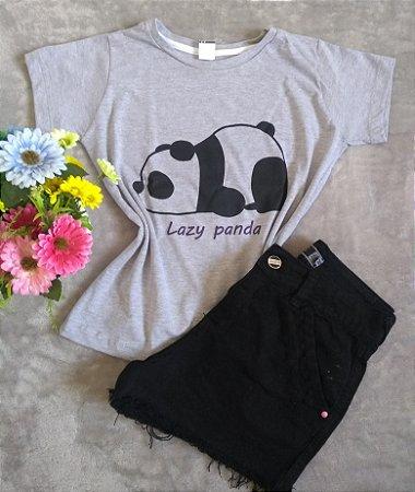 TShirt Feminina No Atacado Lazy Panda
