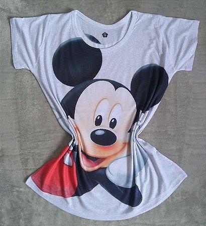 TShirt Feminina no Atacado Mickey Grande