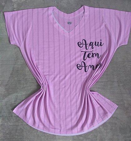 T-Shirt Feminina Para Revenda Aqui tem Amor