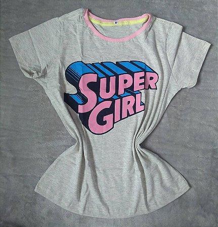 Tee Feminina Para Revenda Super Girl