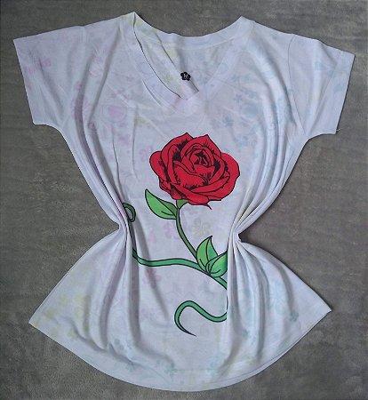 T Shirt Feminina Para Revenda Rosa Grande