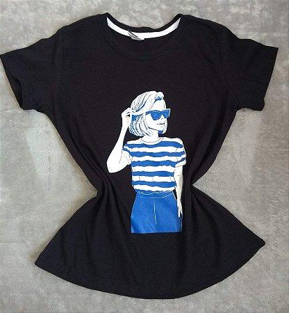 T-Shirt Feminina no Atacado Woman