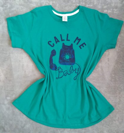 T-Shirt Feminina no Atacado Telefone