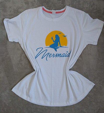 T-Shirt  Feminina no Atacado Mermaid
