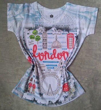 Blusinha Feminina No Atacado Londres