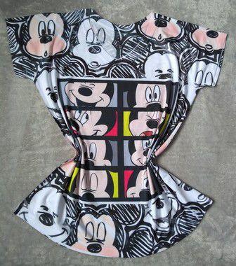 Tee Feminina Para Revenda Mickeys