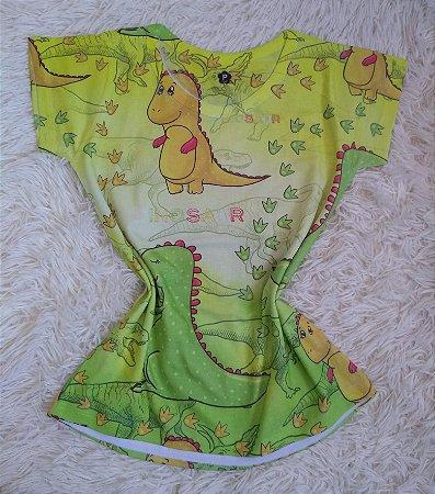 T Shirt Feminina No Atacado Dinossauros