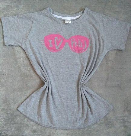 T Shirt Feminina no Atacado Óculos Paris
