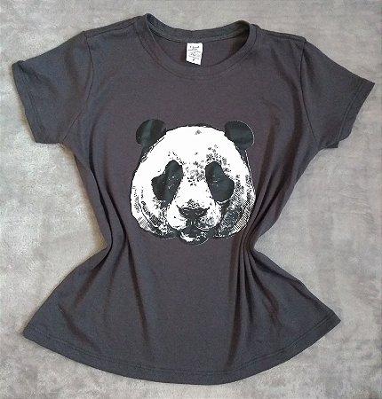 Blusinha Feminina no Atacado Panda Rosto
