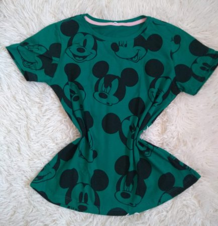 T Shirt Feminina No Atacado Mickeys Rostos