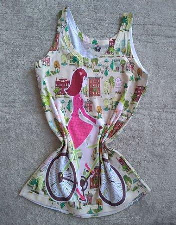 Regata Feminina Para Revenda Girl Bike