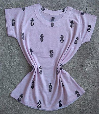 T Shirt Feminina Para Revenda Abacaxis Pequenos