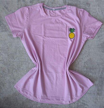 T Shirt  Feminina no Atacado Abacaxi